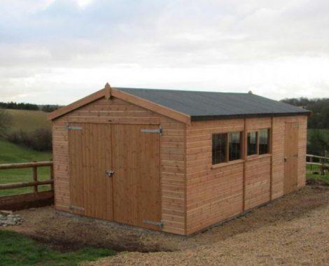 timber-garage