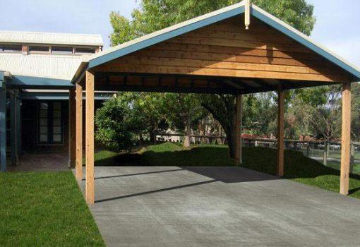 wooden-carport